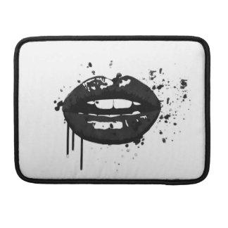 Capa Para MacBook Maquilhador à moda do beijo da forma dos lábios