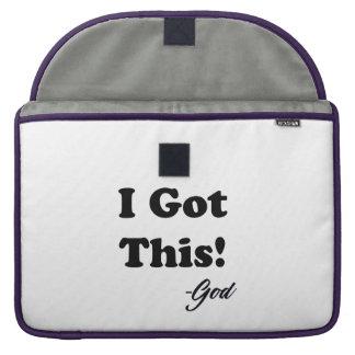 Capa Para MacBook Mensagem do deus