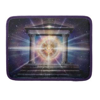 Capa Para MacBook Noite do templo do coração H111