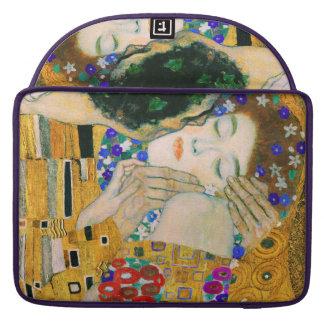 Capa Para MacBook O beijo por Gustavo Klimt