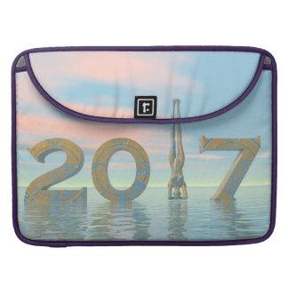 Capa Para MacBook O feliz ano novo 2017 do zen - 3D rendem