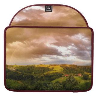 Capa Para MacBook Pro A bolsa de laptop bonita do arco-íris de 15
