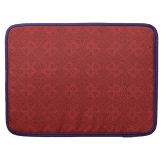 Capa Para MacBook Pro A bolsa de laptop velha vermelha do teste padrão