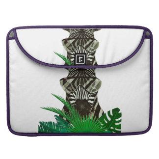 Capa Para MacBook Pro Animal do estilo da zebra do hipster