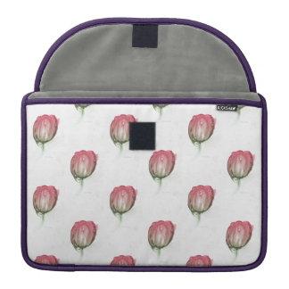 Capa Para MacBook Pro Cobrir vermelho da tulipa