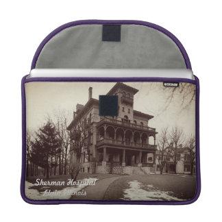 Capa Para MacBook Pro Construção do hospital de Sherman dos 1890's de
