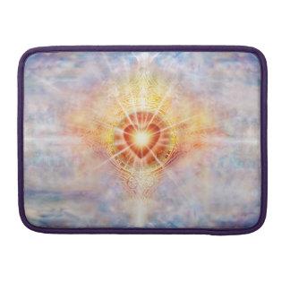 Capa Para MacBook Pro Coração H038 celestial