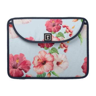 Capa Para MacBook Pro Customizável floral havaiano do hibiscus tropical