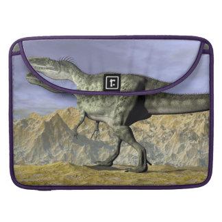 Capa Para MacBook Pro Dinossauro do Monolophosaurus no deserto - 3D