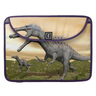 Capa Para MacBook Pro Dinossauros de Suchomimus - 3D rendem