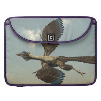 Capa Para MacBook Pro Dinossauros dos pássaros do Archaeopteryx que voam