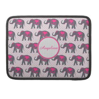 Capa Para MacBook Pro Elefantes cor-de-rosa quentes cinzentos em