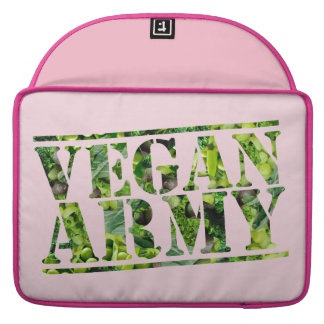 CAPA PARA MacBook PRO EXÉRCITO DO VEGAN