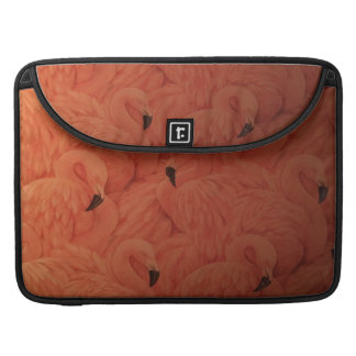 Capa Para MacBook Pro Flamingos cor-de-rosa tropicais, pro luva de