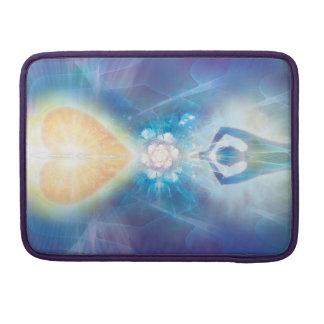 Capa Para MacBook Pro Flor do coração V071