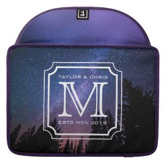 Capa Para MacBook Pro Foto bonita da paisagem do monograma considerável