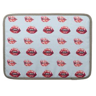 Capa Para MacBook Pro lábios dos lábios