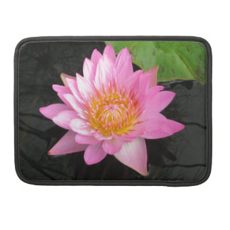 Capa Para MacBook Pro Lotus cor-de-rosa Waterlily