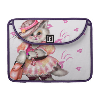 """Capa Para MacBook Pro Luva 13"""" de Macbook do rickshaw da SENHORA CAT PRO"""