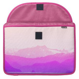 Capa Para MacBook Pro Luva cor-de-rosa de Macbook das montanhas