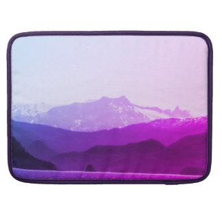 Capa Para MacBook Pro Luva de Macbook das montanhas roxas