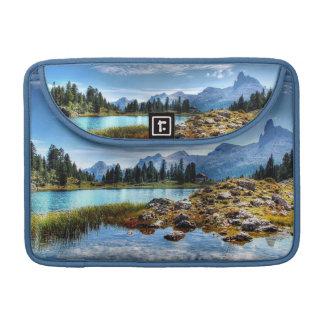 Capa Para MacBook Pro Luva de Macbook do lago bonito meadows da montanha