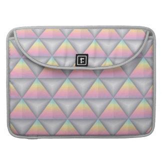 Capa Para MacBook Pro Luva geométrica de Macbook dos triângulos do