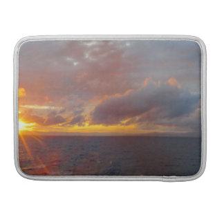 Capa Para MacBook Pro Luva mediterrânea de Macbook do por do sol