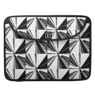 "Capa Para MacBook Pro Macbook pro 15"" moderno acolchoado da luva branco"