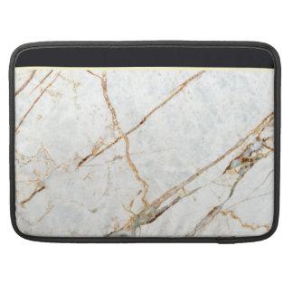 Capa Para MacBook Pro Mármore (preto & branco)