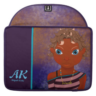 Capa Para MacBook Pro menina da borboleta da coruja
