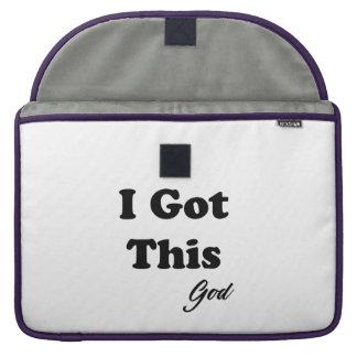 Capa Para MacBook Pro Mensagem do deus