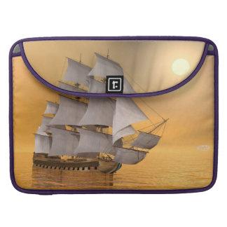 Capa Para MacBook Pro Navio mercante velho - 3D rendem