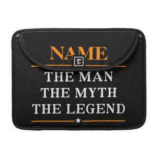 Capa Para MacBook Pro Nome personalizado o homem o mito a legenda
