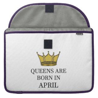 Capa Para MacBook Pro O Queens é nascido em abril