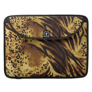 Capa Para MacBook Pro O tigre listra luva de Macbook do teste padrão do
