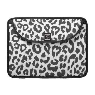 Capa Para MacBook Pro Padrões pretos & brancos da pele animal do