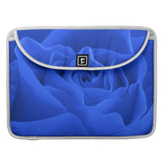 Capa Para MacBook Pro Pétalas cor-de-rosa azuis
