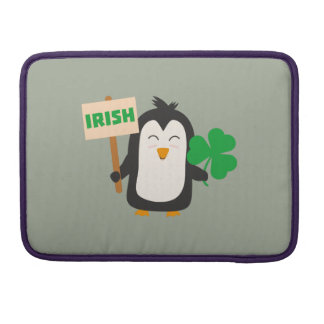 Capa Para MacBook Pro Pinguim irlandês com trevo Zjib4