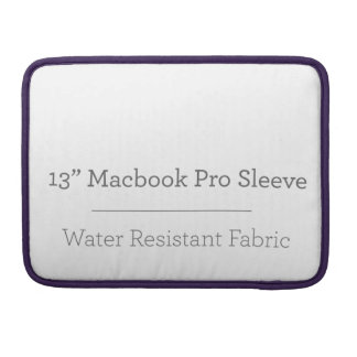 Capa Para MacBook Pro Pro luva do costume 13in Macbook