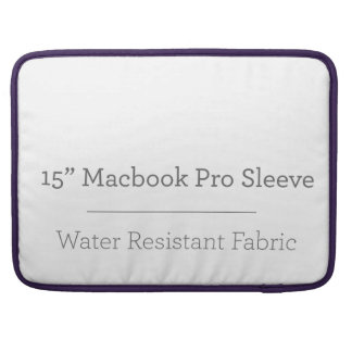 Capa Para MacBook Pro Pro luva do costume 15in Macbook