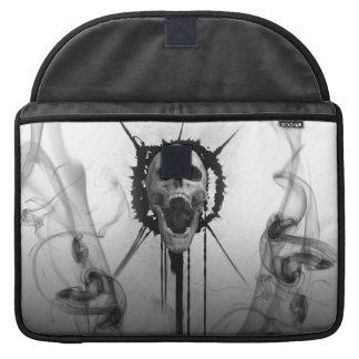 Capa Para MacBook Pro Protetor gritando da luva de Macbook do crânio pro
