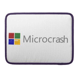 Capa Para MacBook Pro Tela de Microcrash do logotipo da morte