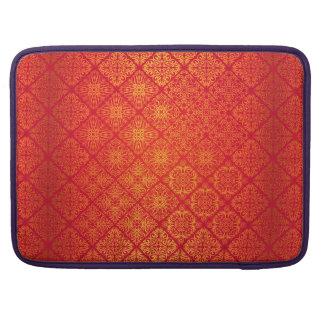 Capa Para MacBook Pro Teste padrão antigo real luxuoso floral
