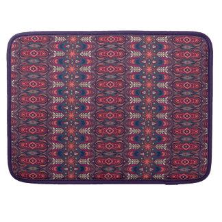 Capa Para MacBook Pro Teste padrão floral étnico abstrato colorido da