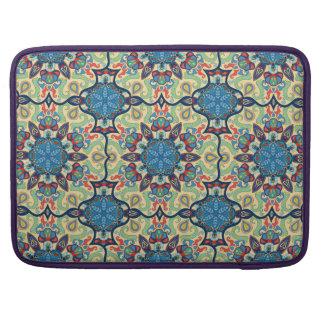 Capa Para MacBook Pro Teste padrão floral étnico abstrato colorido de da