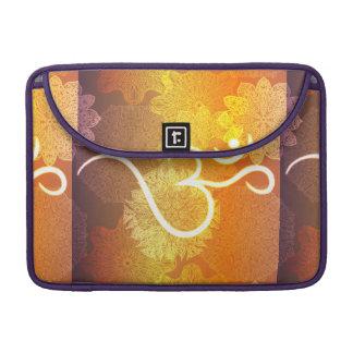 Capa Para MacBook Pro Teste padrão indiano do ornamento com símbolo do
