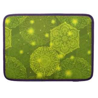Capa Para MacBook Pro Teste padrão luxuoso floral da mandala
