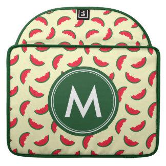 Capa Para MacBook Pro Teste padrão vermelho da melancia do verão frutado