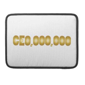 Capa Para MacBook Pro Vestuário do divertimento do CEO